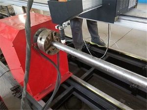 2017 New Portable motako Plasma Metal Pipe ebakitzaile makina, CNC metalezko hodi mozteko makina