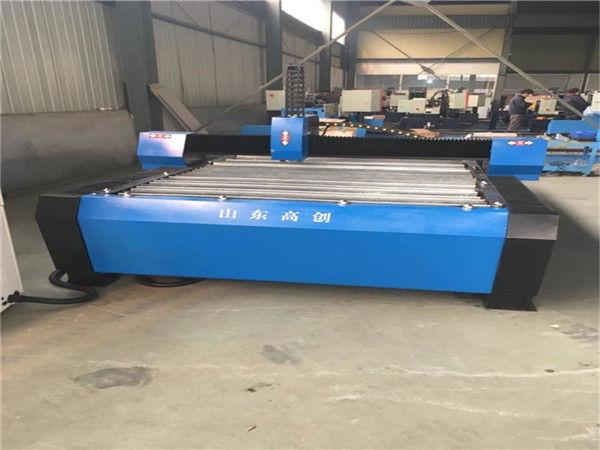 Txina 1325 Plasma Cutter Metalezko CNC Plasma Ebakitzeko Makina