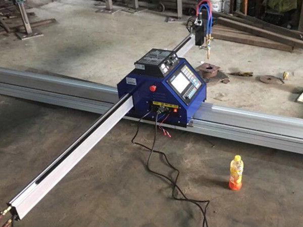 Txina 15002500mm metalezko portable CNC plasma mozteko makina CEarekin