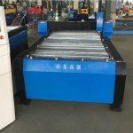 Txina 100a plasma ebaketa cnc makina 10mm plaka metalikoa