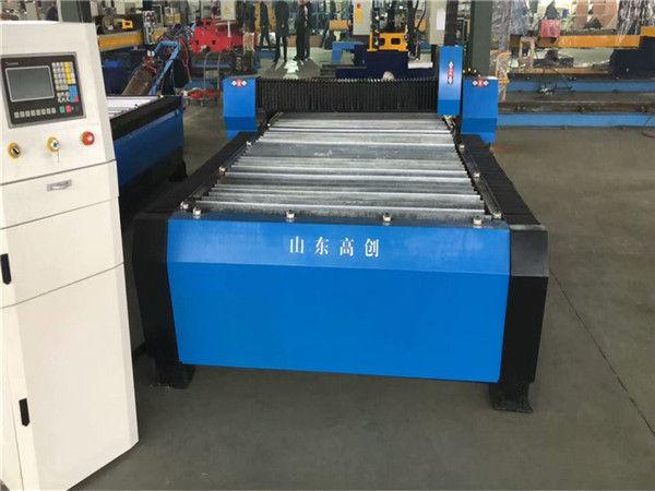 Txina Huayuan 100A Plasma Ebakitzeko CNC Makina 10mm Plaka Metala