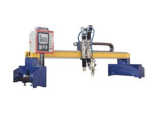 Gantry motako CNC plasma eta sugarra mozteko makina, Shanghai Laike-ren eraikuntzarako ontzi-patioetarako