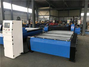 20006000mm CNC metalezko xafla pipa ebaketa zulatzeko makina