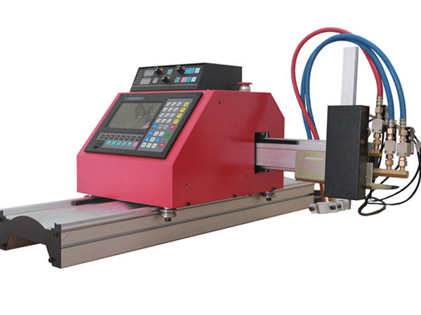 Multifuntzionalak Square Steel Steel Tube Profila CNC FlamePlasma ebaketa-makina kalitate handiko