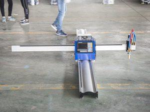 Teknologia berria micro START CNC metalezko ebakitzailea / portatila cnc plasma mozteko makina