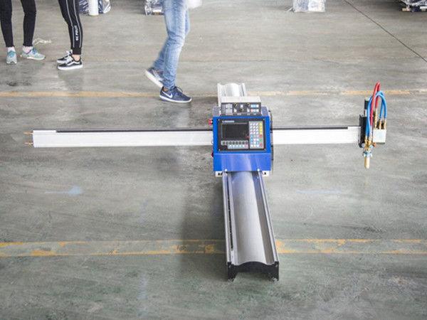 Teknologia berriak, ordenagailu eramangarri motako cnc plasma ebaketa-makinaren prezioaren negozio txikien fabrikaziorako makinak