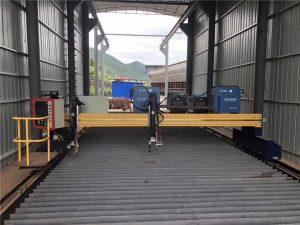 Zehaztutako CNC Plasma Ebakitzeko Makina Servo Motorrarekin 13000mm