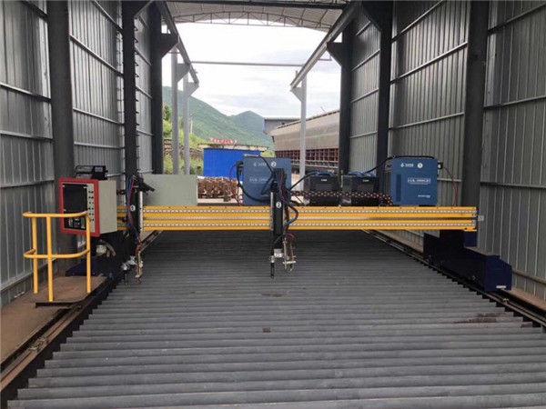 Tamaina txikiko mahai mota CNC plasma eta sugarren doitasun ebaketa makinak