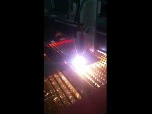 kalitate handiko plasma elektrikoa hornitzeko cnc plasmako ebaketa makina industriala