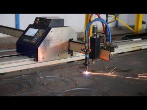low cost grantry type portable mini cnc plasma cutting machine