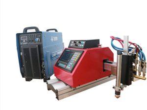 portatila cnc plasma, gasa, sugarra, oxgen xafla ebakitzeko makina THCrekin